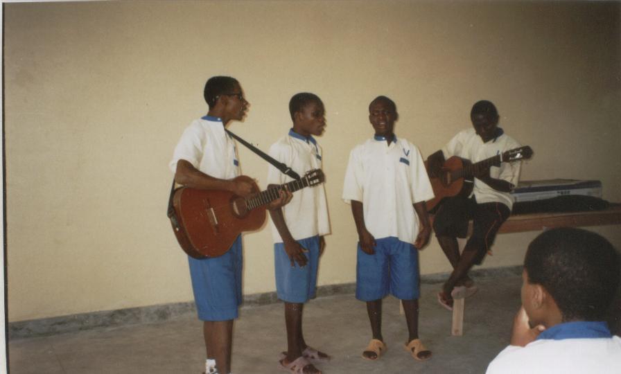 Les enfants sont des musiciens