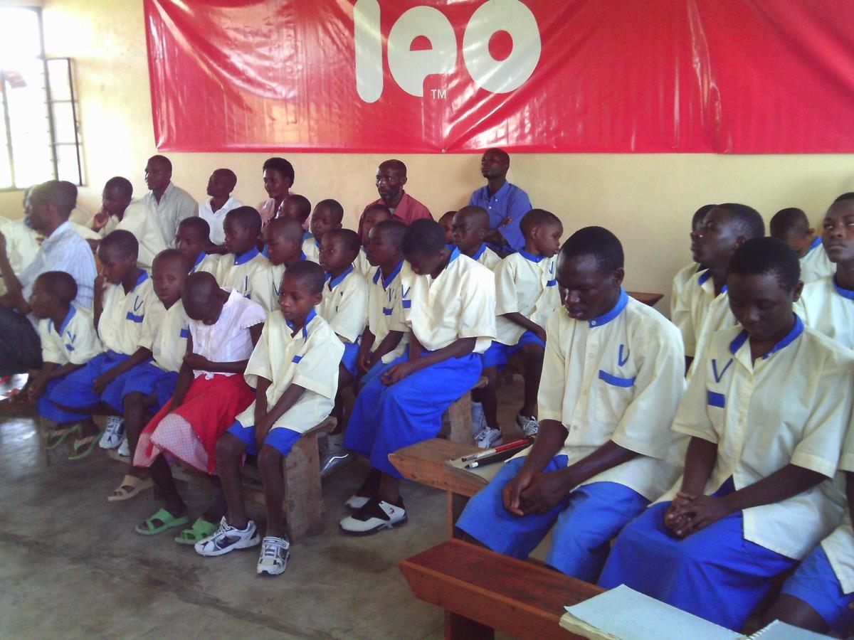 Les enfants de Gihanga en classe